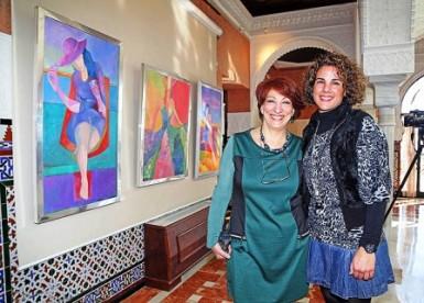 La concejala de Cultura, Yolanda Peña, ha visitado hoy la muestra, que permanecerá abierta al público hasta el 15 de febrero.