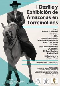 El evento está organizado por la Asociación de Caballistas de Torremolinos, la Asociación de la Monta a lo Amazona y el Club Hípico 'El Ranchito'