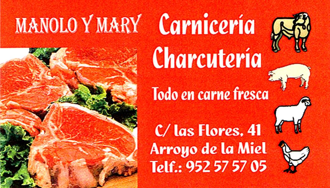 CARNICERÍA MANOLO Y MARY