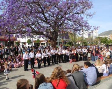 La organización del evento ha corrido a cargo del colegio noruego de Benalmádena y la iglesia noruega Sjomannskirken