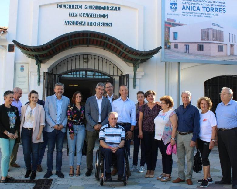 """""""Nuestro proyecto está claro, sacar adelante nuestro país, que es lo que nos demandan los ciudadanos"""", ha dicho Víctor Navas en Benalmádena"""
