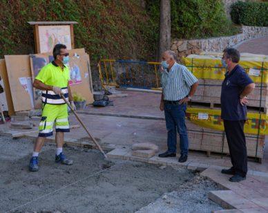 """""""Además, hemos instalado 54 metros cuadrados de solería nueva"""", ha añadido Rodríguez"""